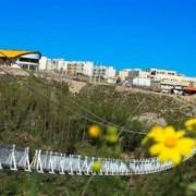 افتتاح بزرگترین پل معلق پیاده رو جهان در مشگین شهر