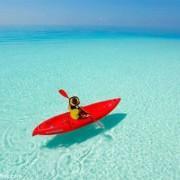 شگفت انگیزترین مکانهای دنیا برای قایق سواری